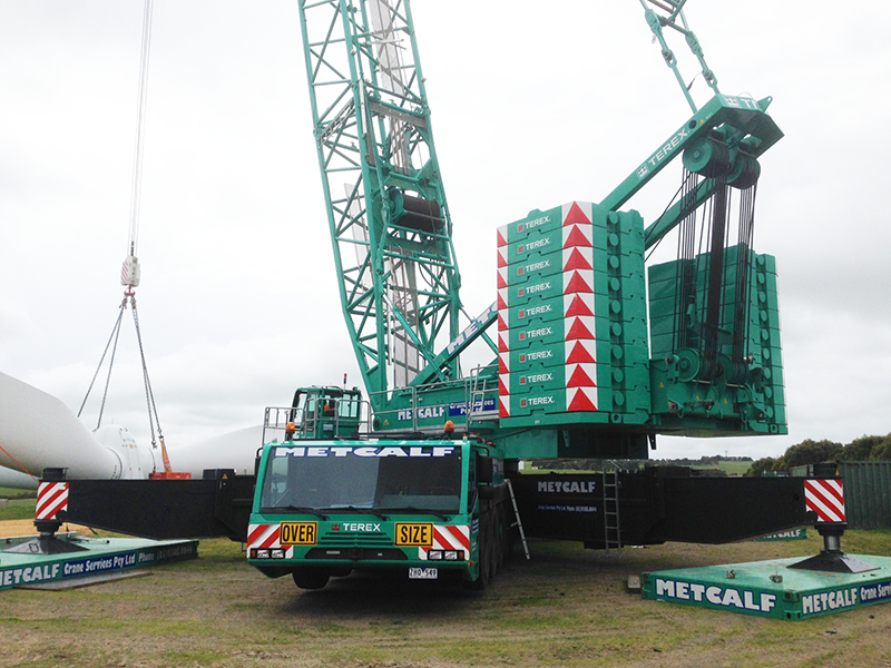 Metcalf Crane Services – PROVIDING THE SKILLS AND THE EXPERIENCE TO