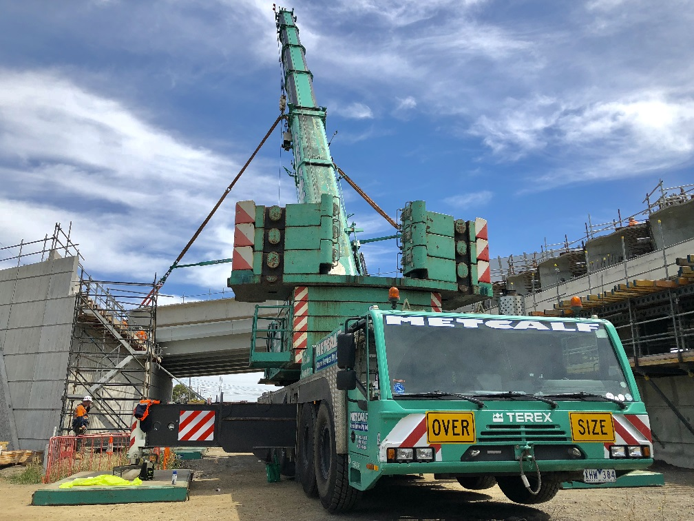 brdige, construction, mobile-crane-hire, melbourne, victoria