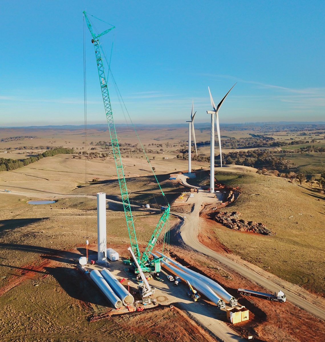 Metcalf Cranes Wind Project