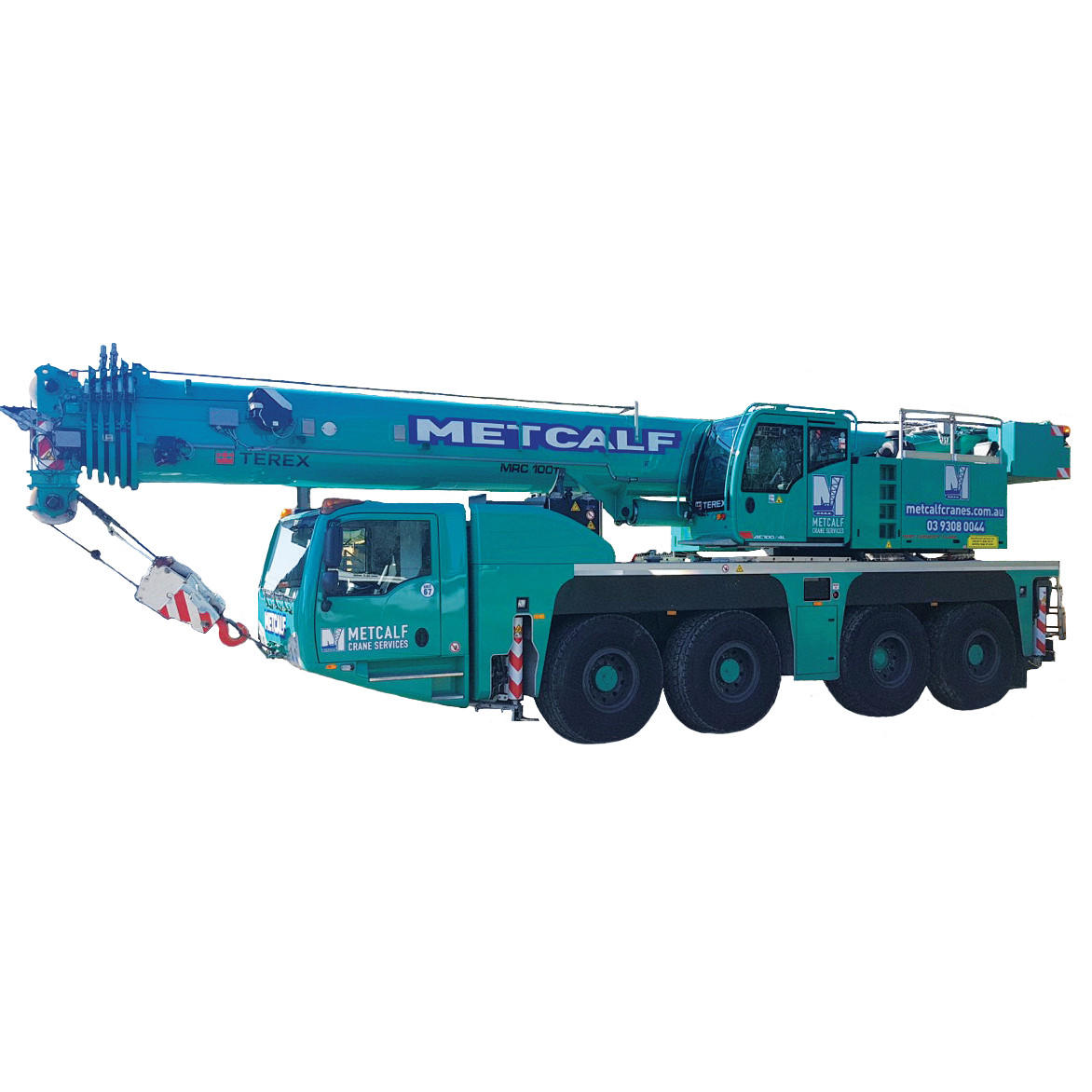 Metcalf Cranes - Demag AC100-4L