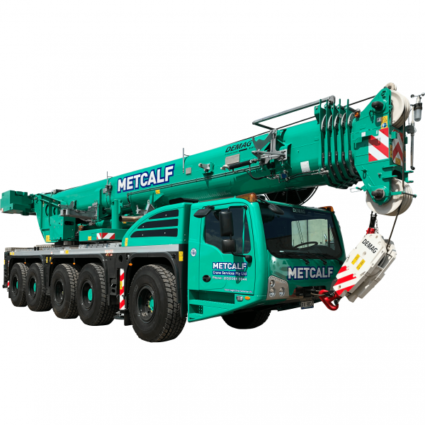 melbourne, Victoria, AC130, Demag, All-Terrain, crane-hire